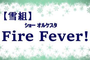 雪組 FireFever
